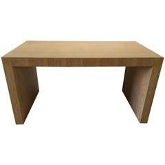 """Giorgio Armani """"Cambridge"""" Desk in Cerused White Oak"""