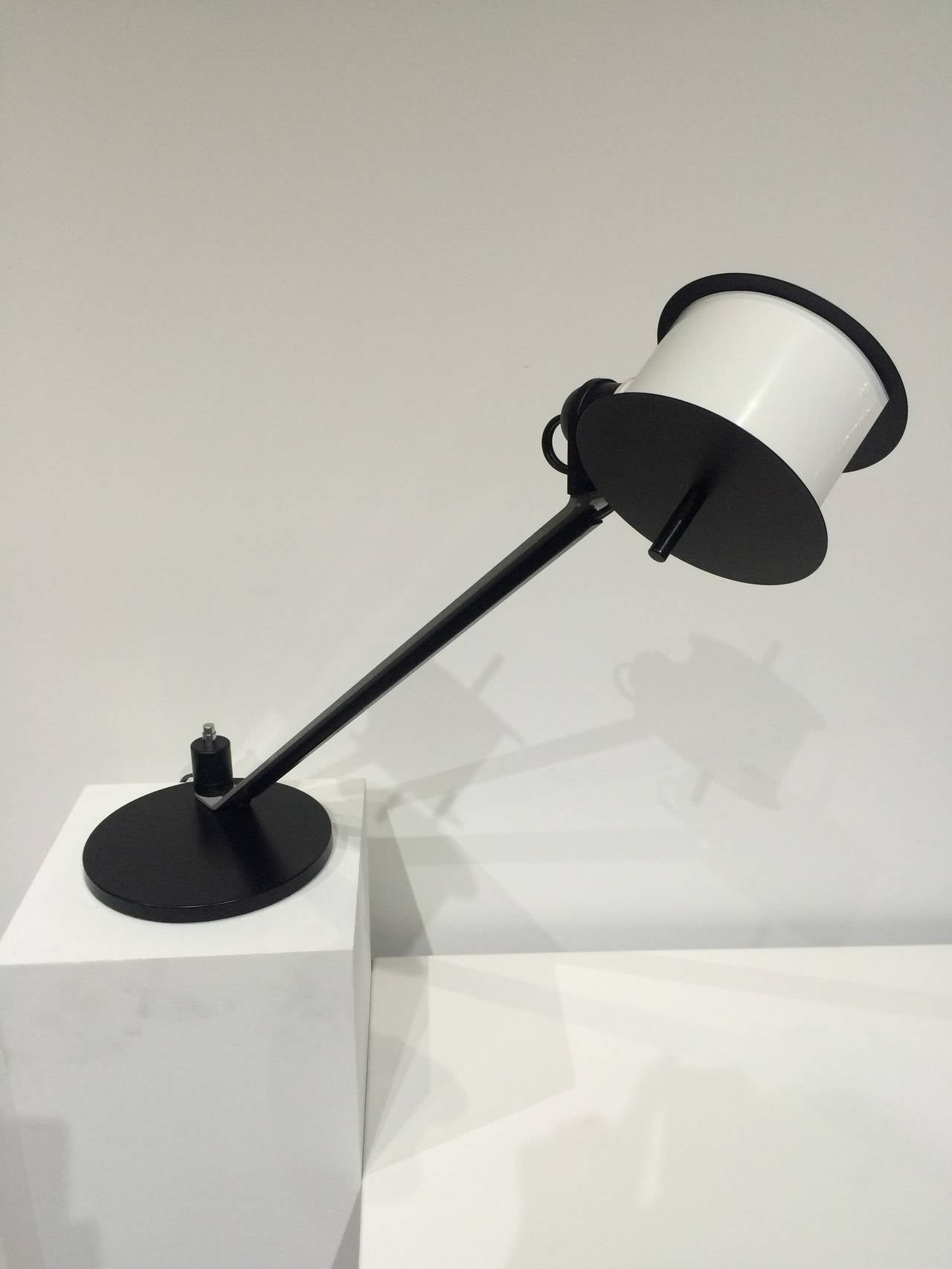 Italian Pair of Memphis Post Modern Lamps Attributed to Ettore Sottsass For Sale