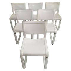 Set of Six Matteo Grassi Dining Chairs