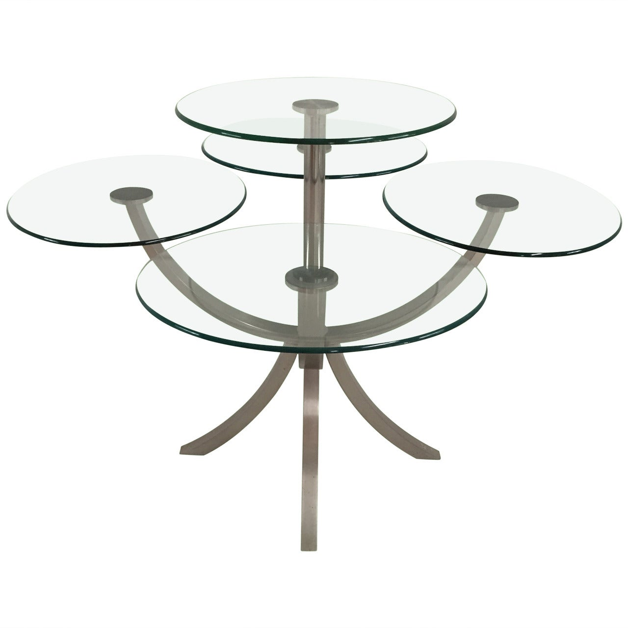 "DIA, Design Institute of America ""Dinner for Four"" Dining Table"