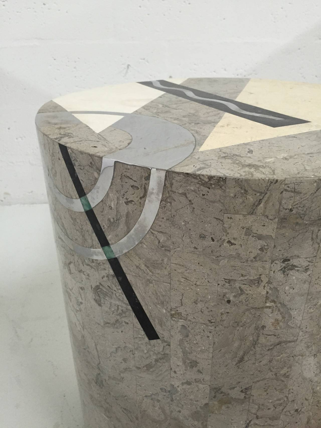 Tavola Tessellated Side Table by Oggetti 7