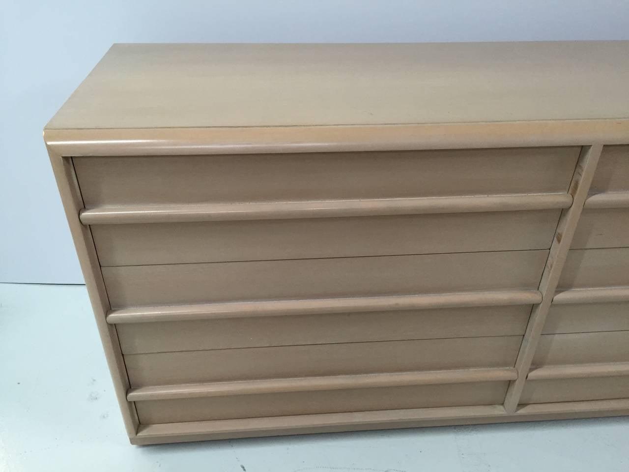Bleached T.H. Robsjohn-Gibbings Dresser for Widdicomb For Sale