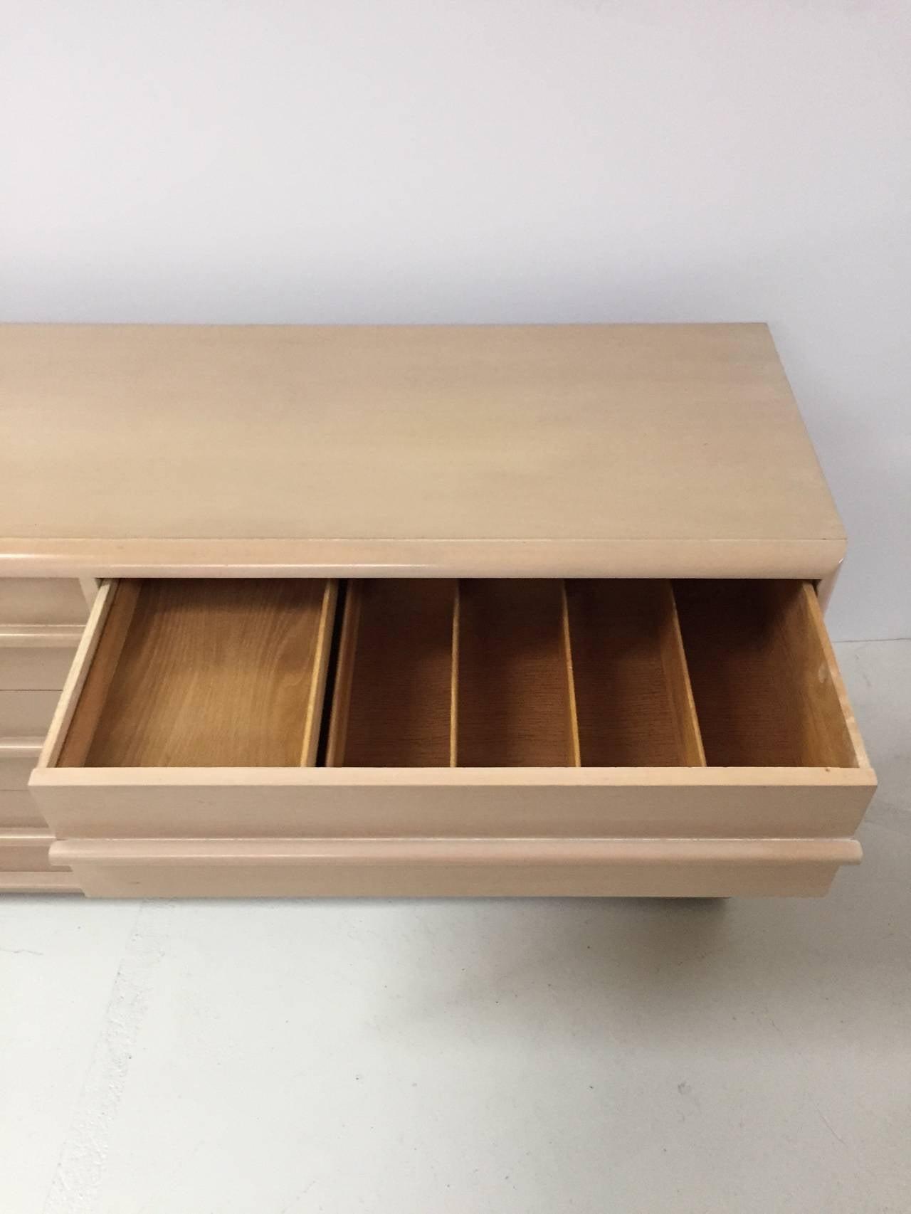 Walnut T.H. Robsjohn-Gibbings Dresser for Widdicomb For Sale