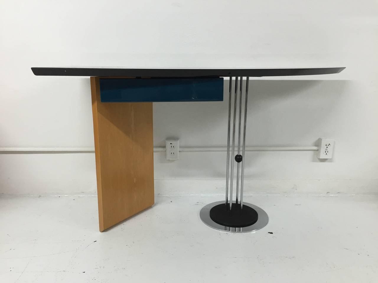 Italian Maurizio Salvato Desk for Saporiti For Sale