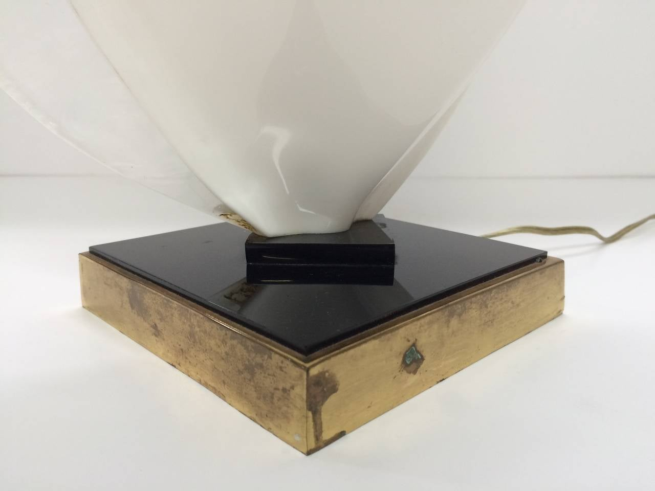 20th Century 1980s Rougier Table Lamp For Sale