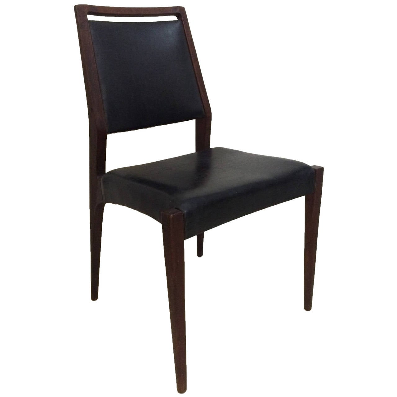 1950s italian modernist chair in the style of gio ponti at for 1950s chair styles