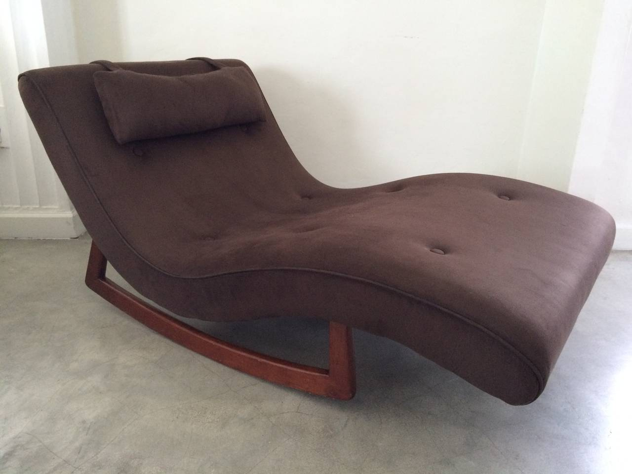 Adrian Pearsall Rocking Wave Chaise Lounge For Craft