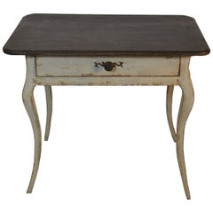 Louis XV Period End Table with Drawer