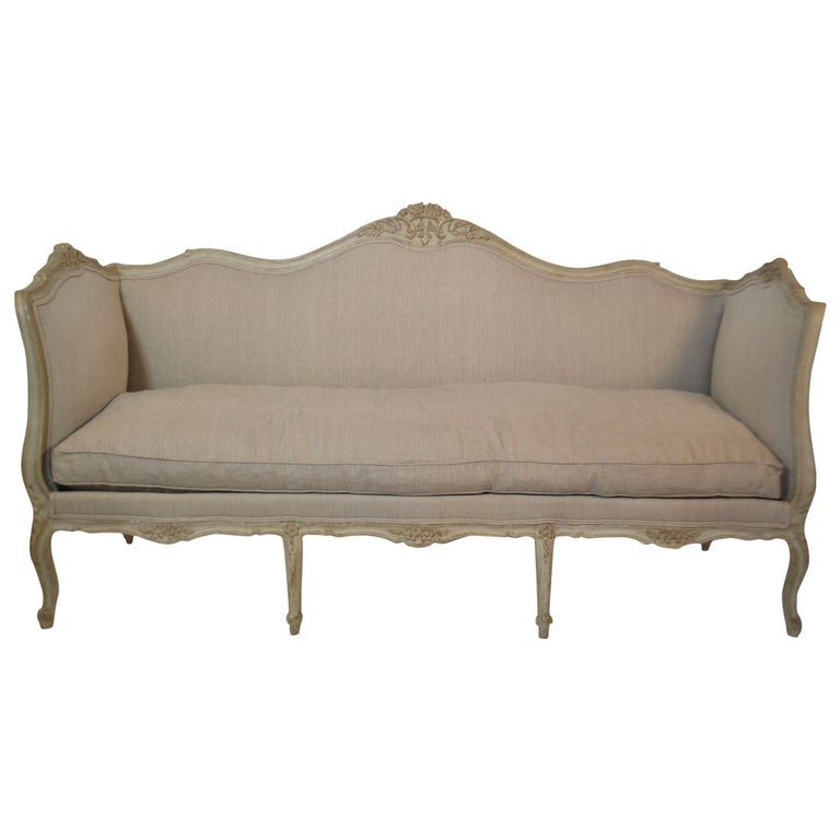 19th Century Louis XV Settee For Sale