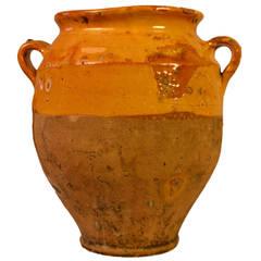 19th Century Terracotta Confit Pot
