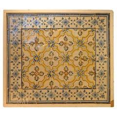 Late 18th c. Portuguese Tile Panel