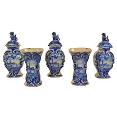18th Century Dutch Faience from Delft