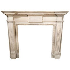 English Bath Stone Mantelpiece