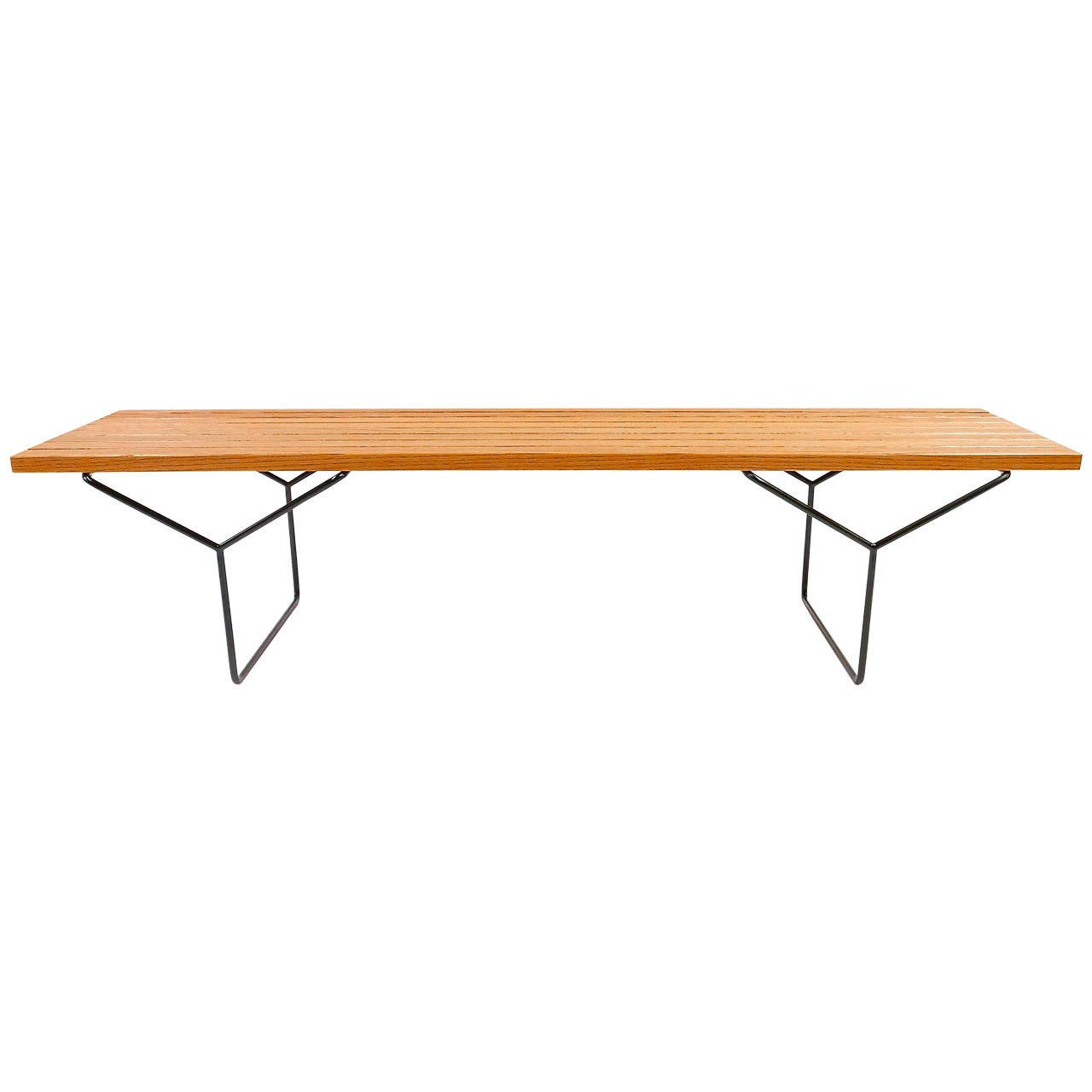 Harry bertoia bench knoll associates at 1stdibs - Bertoia coffee table ...