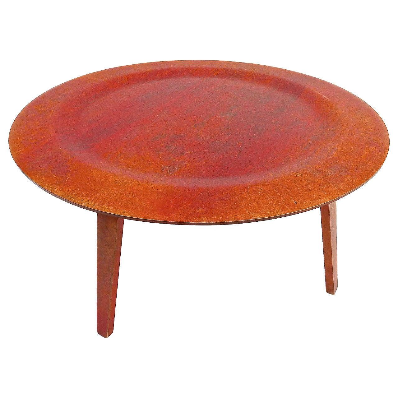 Charles And Ray Eames Dish Table At 1stdibs