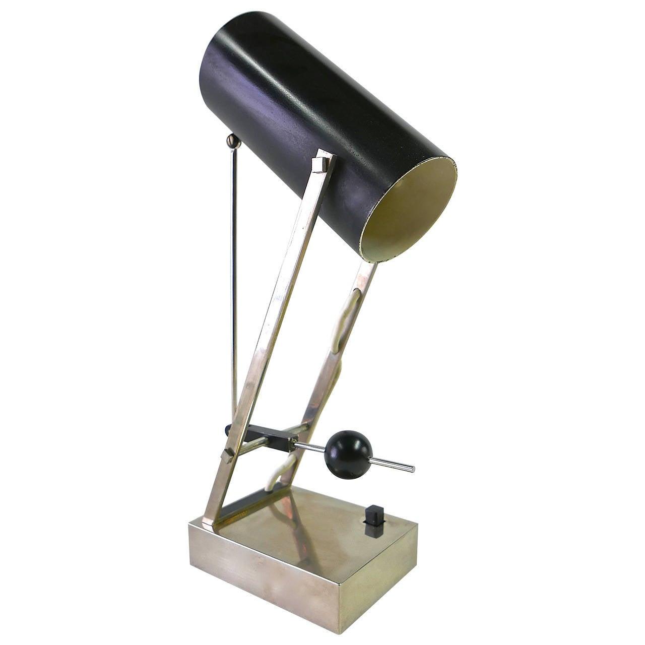 Angelo lelli table lamp for arredoluce at 1stdibs for Arredo luce