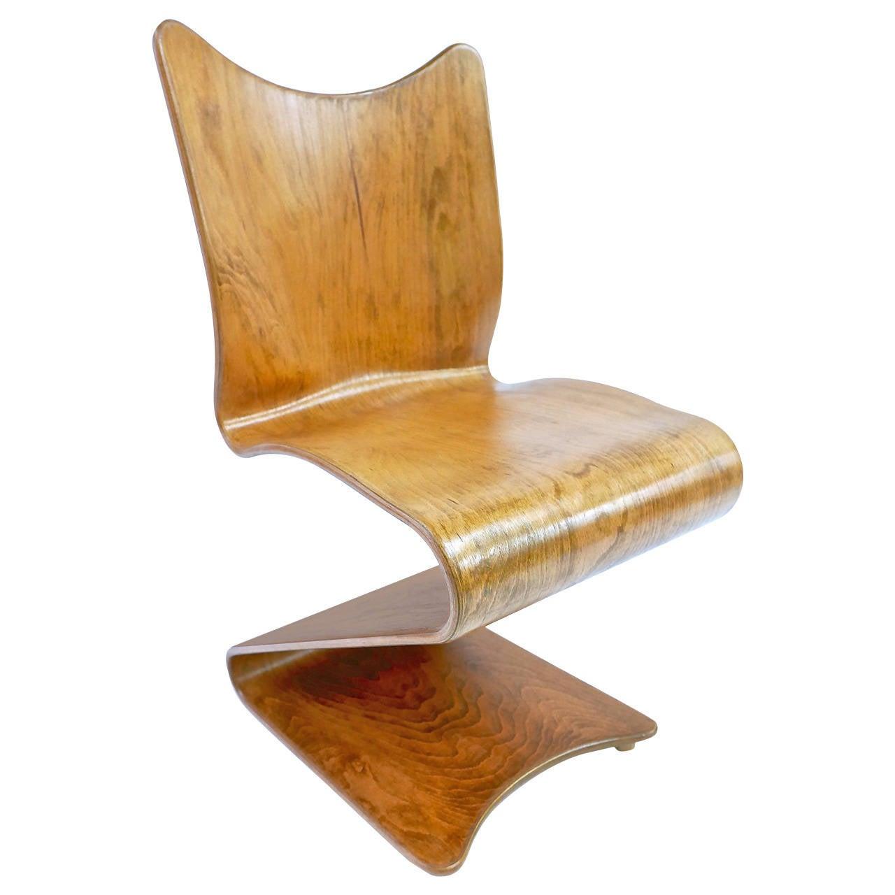 verner panton s chair for thonet at 1stdibs. Black Bedroom Furniture Sets. Home Design Ideas