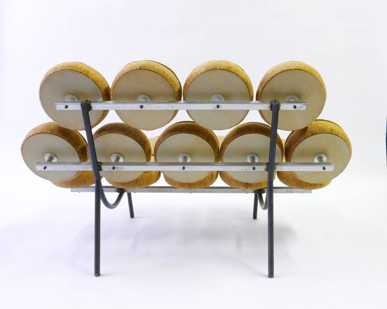 George Nelson Marshmallow Sofa For Herman Miller At 1stdibs