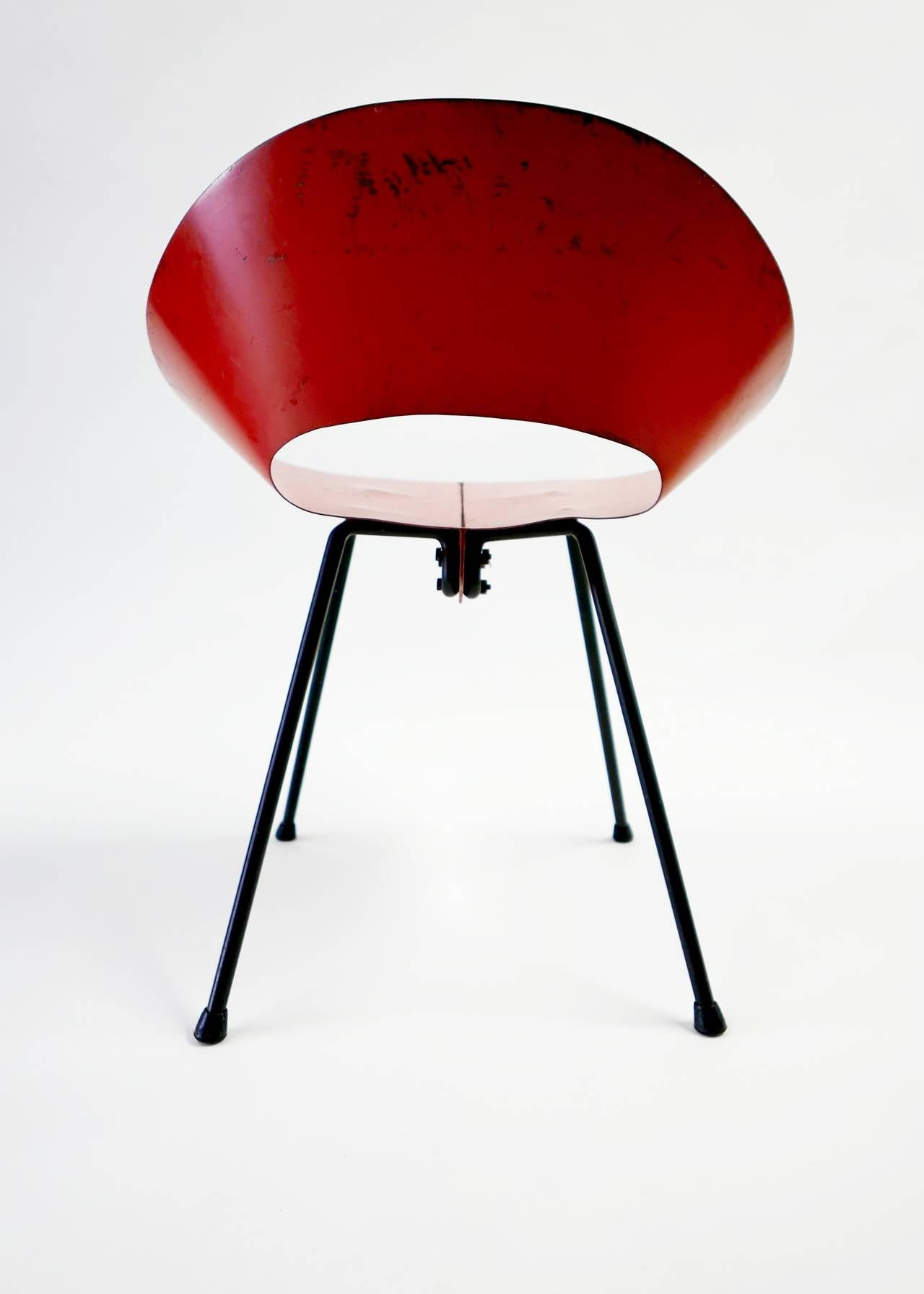 Donald knorr chair knoll associates 1948 for sale at 1stdibs for Knoll associates