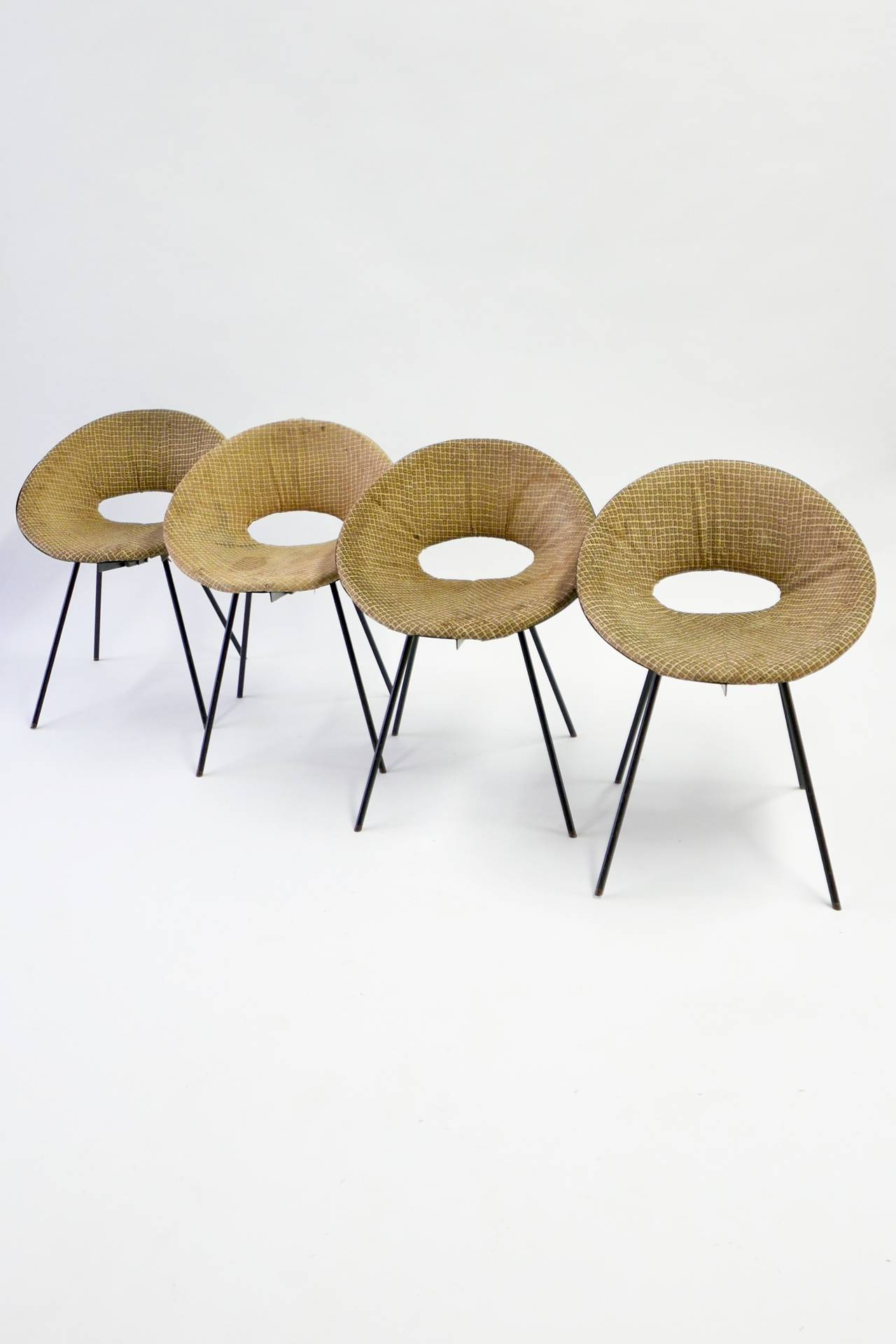 Donald Knorr Chairs Knoll Associates 1948 At 1stdibs