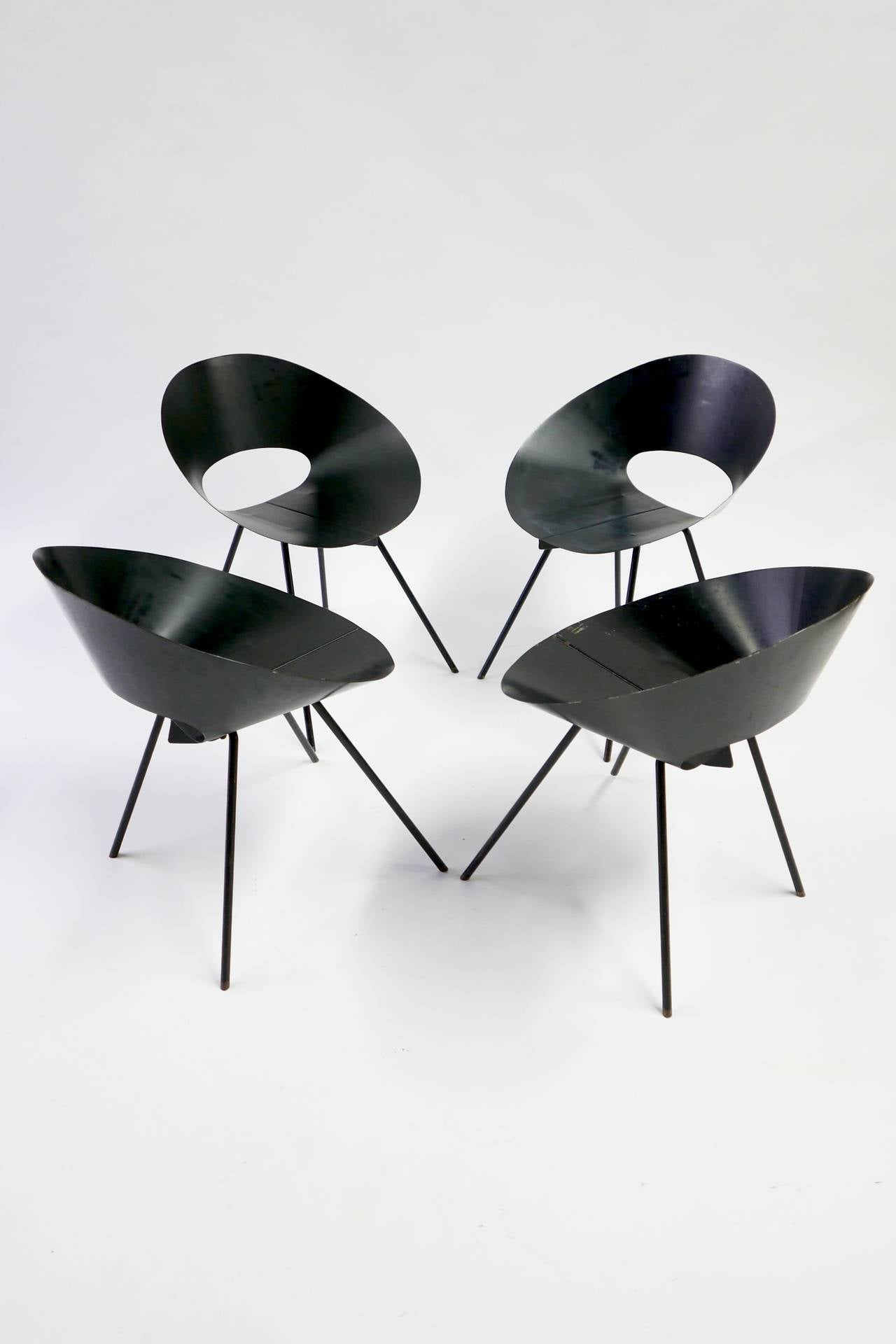Donald knorr chairs knoll associates 1948 at 1stdibs for Knoll and associates
