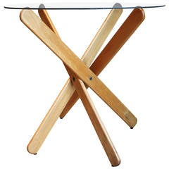 """""""Popsicle Table,"""" Marked Dan Droz, circa 1970"""