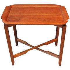 Scandinavian Midcentury Teak Tray Table, circa 1960