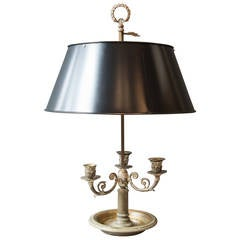 Bouillotte Lamp, Early 20th Century
