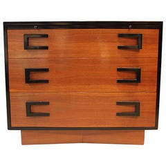 Writing Desk with Chest of Drawers by Cavalier, circa 1950