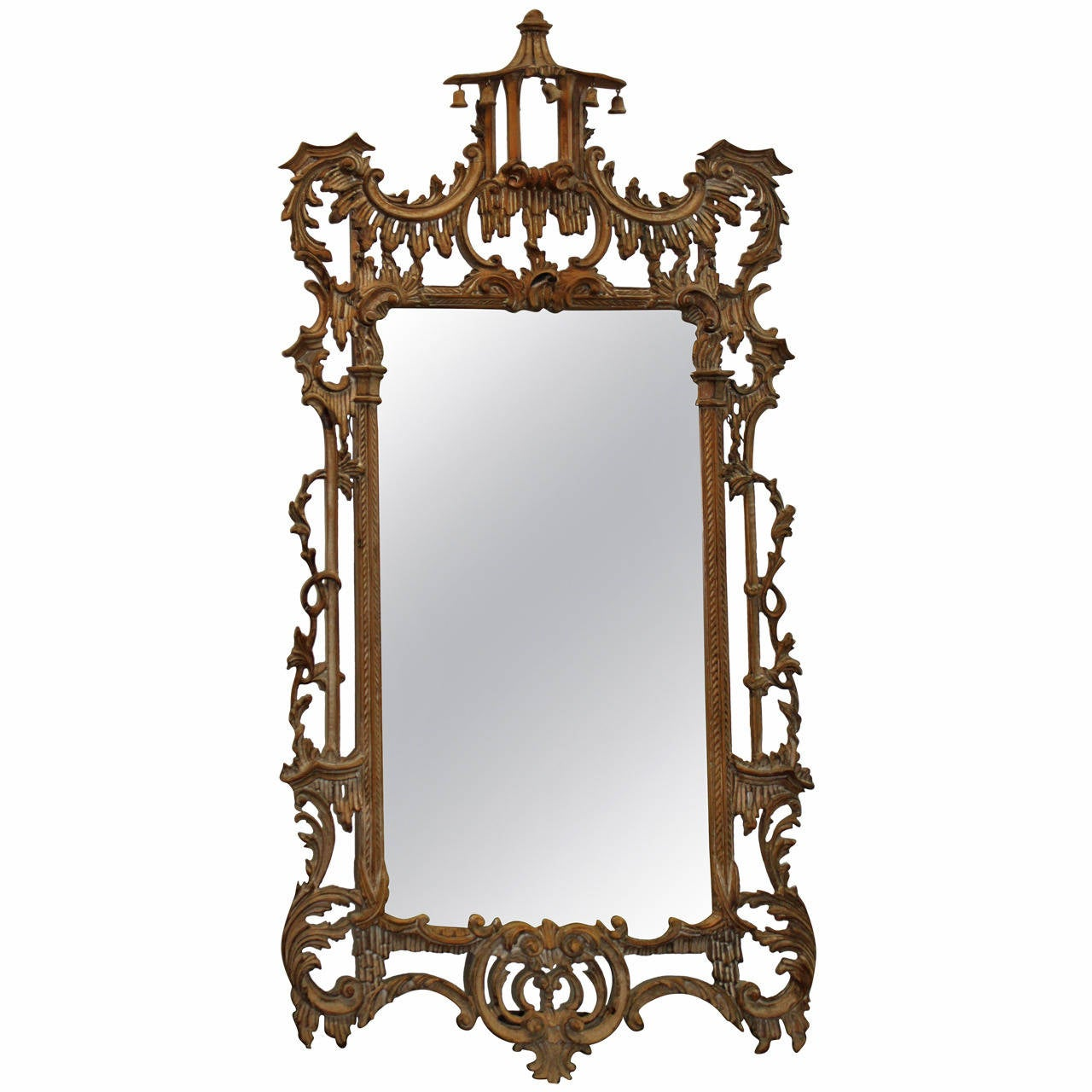 Chinese Chippendale Style Mirror At 1stdibs