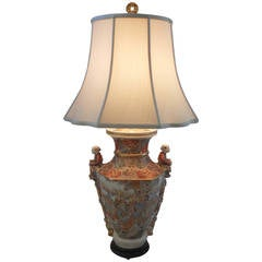 19th Century Satsuma Vase as a Lamp