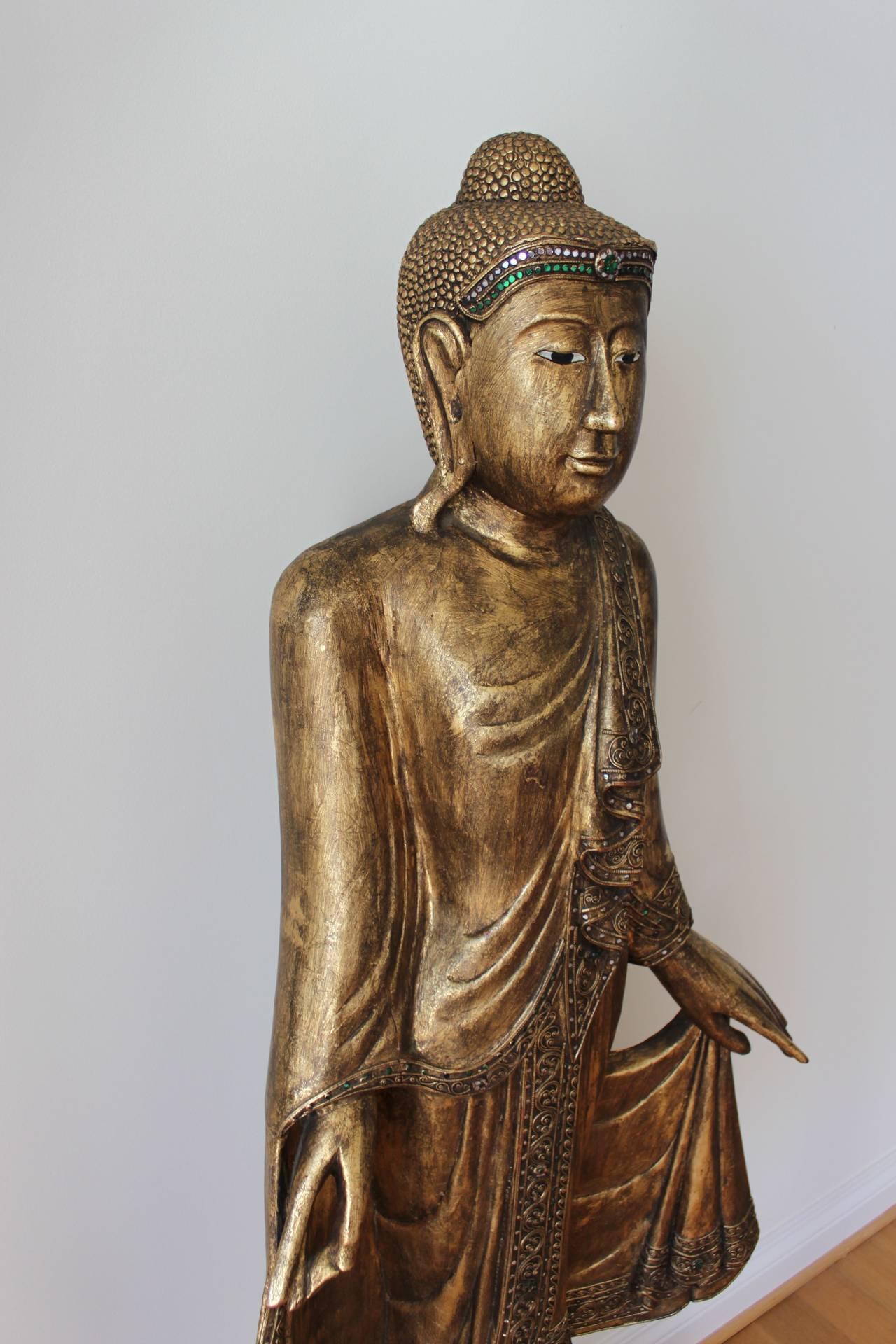 Monumental Buddha At 1stdibs
