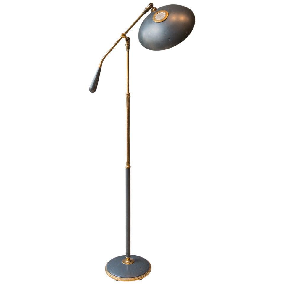 Mid 20th century lightolier counterbalance floor lamp by gerald mid 20th century lightolier counterbalance floor lamp by gerald thurston 1 geotapseo Image collections