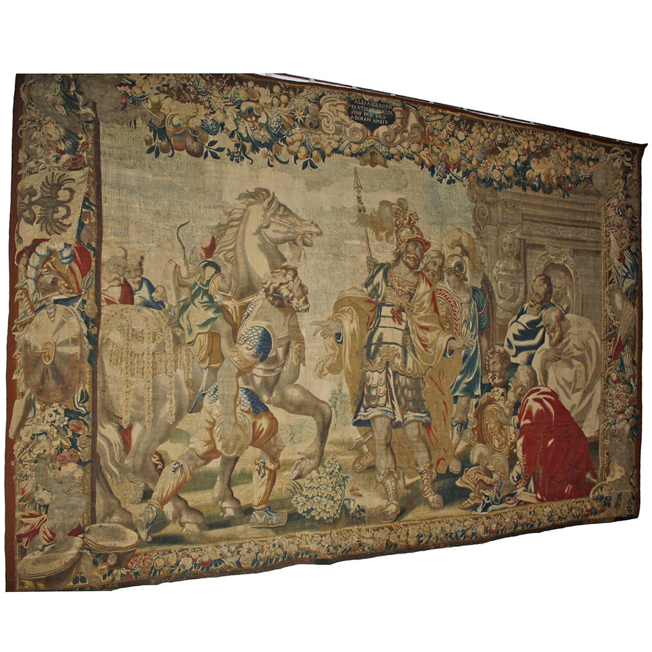 Brussels Historical Masterpiece Of A Tapestry By Jan Leyniers For Sale