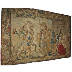 Brussels Historical Masterpiece of a Tapestry by Jan Leyniers