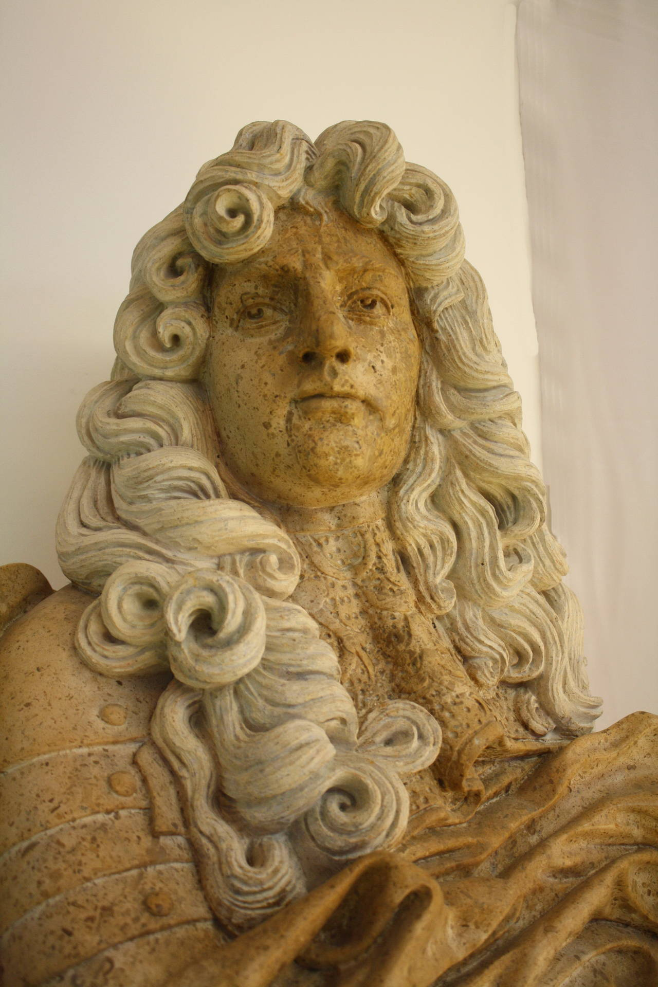 Portrait Bust Of King Louis Xiv For Sale At 1stdibs
