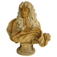 Portrait Bust of King Louis XIV
