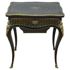19th Century, Napoleon III Sewing Table