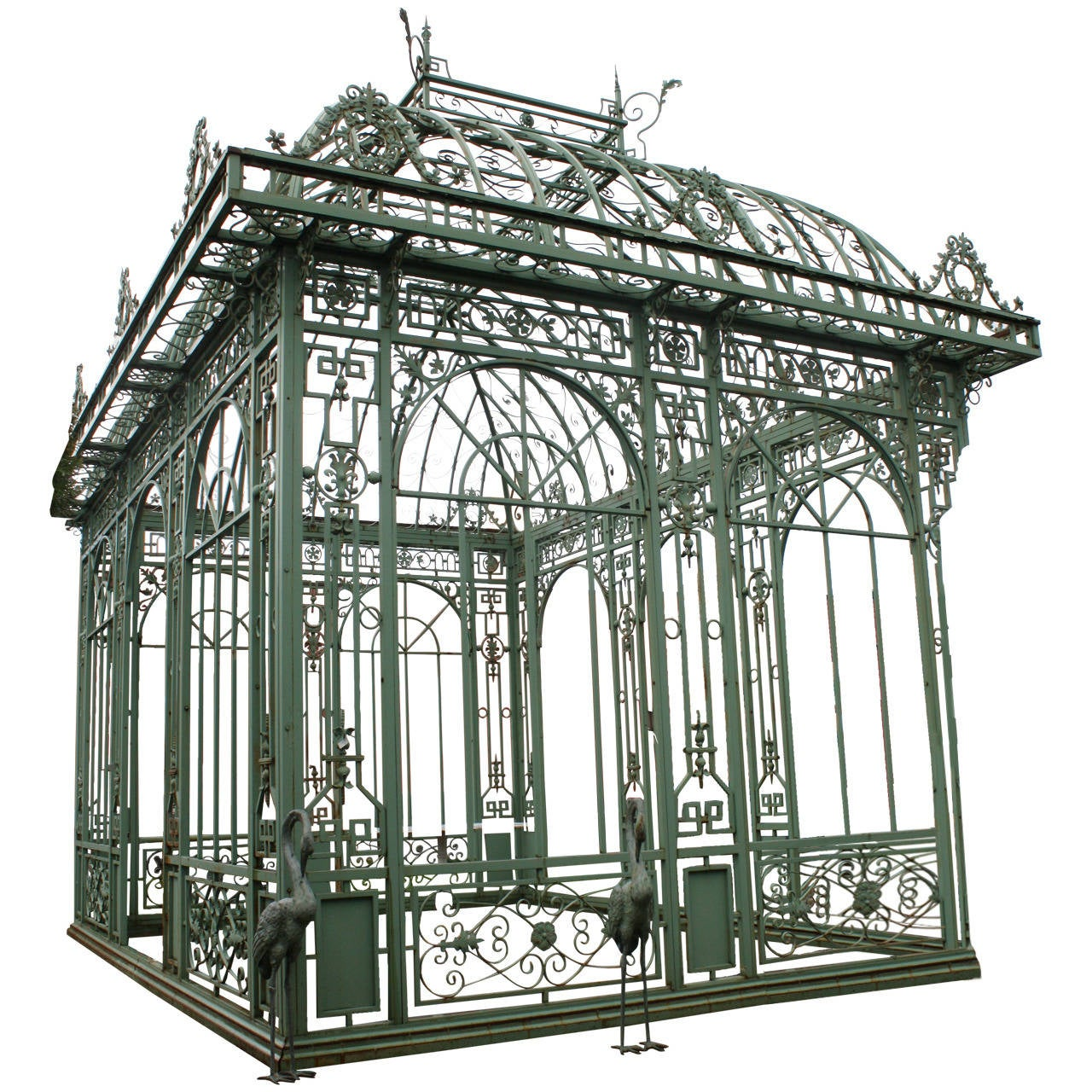 Architectural Building Elements : Exceptional cast iron pavillon at stdibs