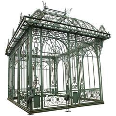 Exceptional Cast Iron Pavillon