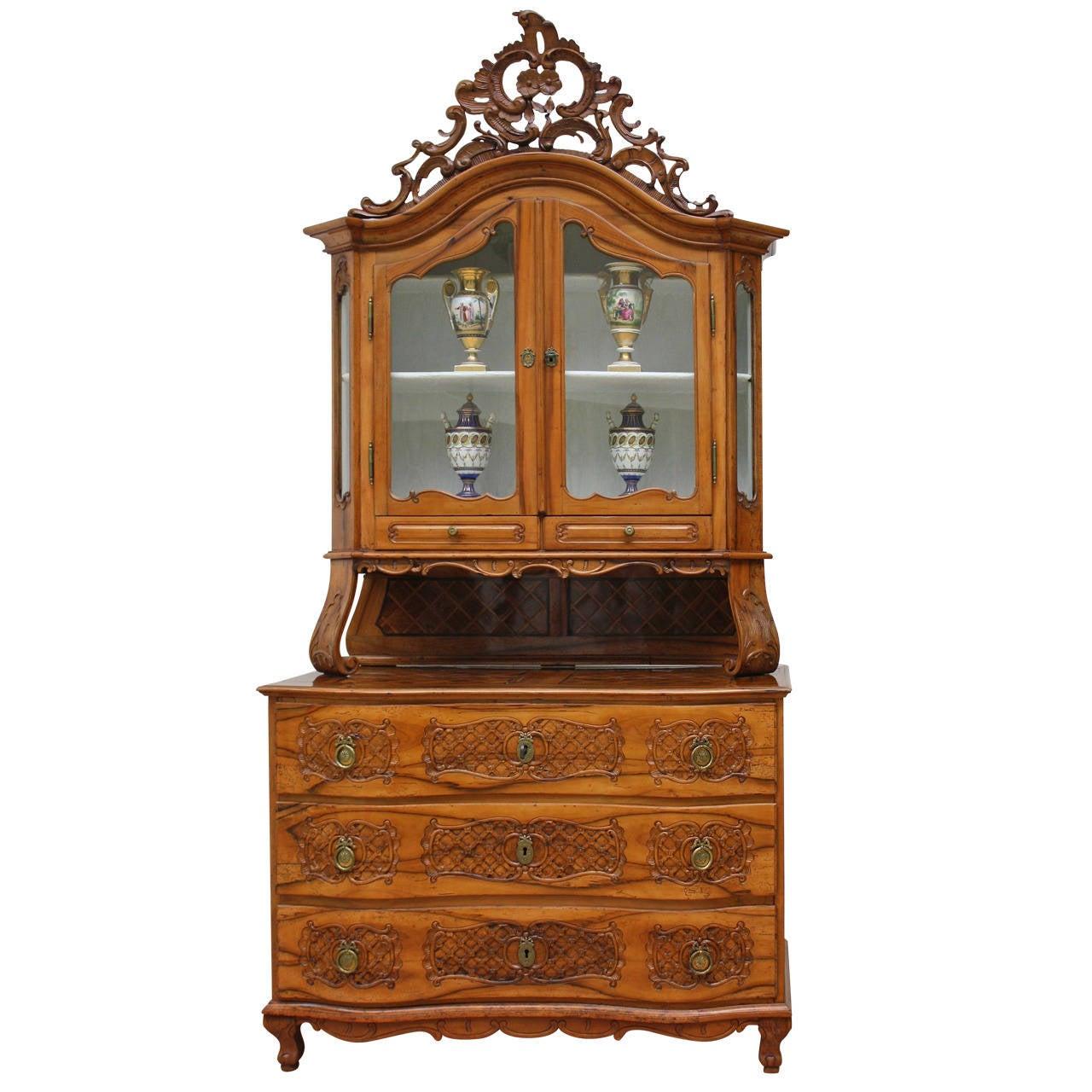 "18th Century, Rare ""Salzburger"" Baroque Cupboard"