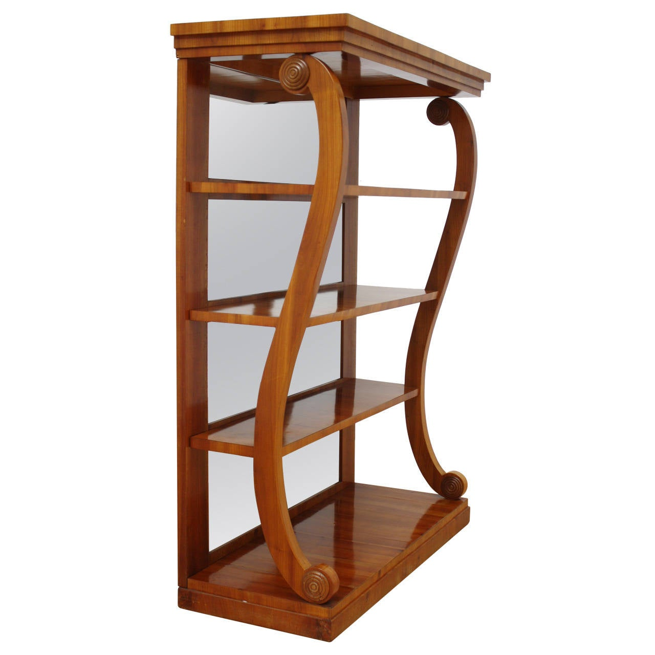 elegant biedermeier etagere for sale at 1stdibs. Black Bedroom Furniture Sets. Home Design Ideas