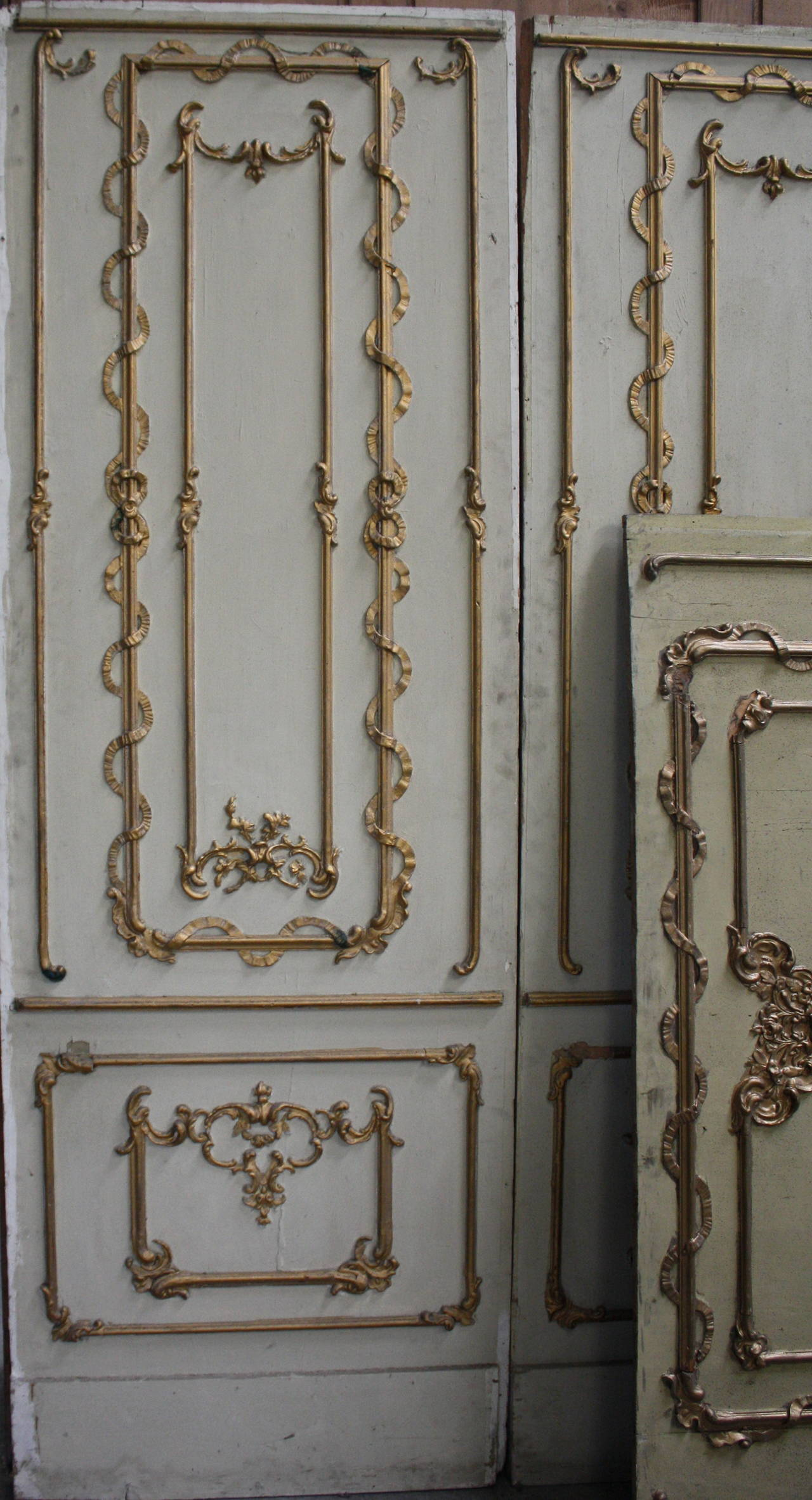 18th Century Baroque Boiserie From An Austrian Palace At