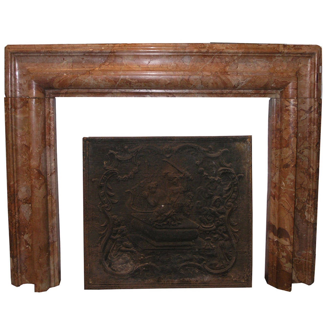 this antique marble fireplace is no longer available
