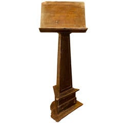 Antique Lectern, Made of Walnut