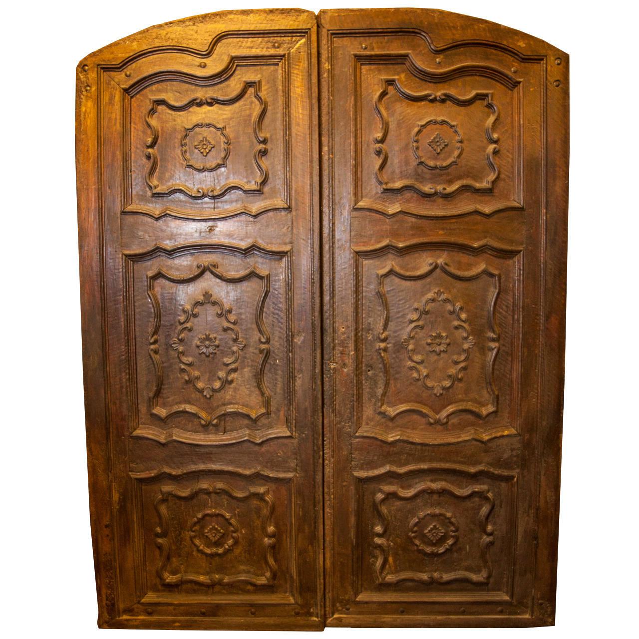 Antique Double Door made of Walnut