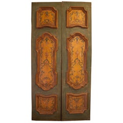 Antique lacquered Double Door