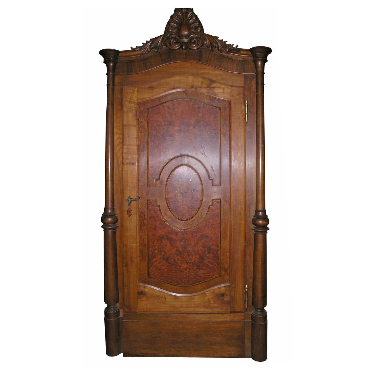 Antique Door with Original Frame