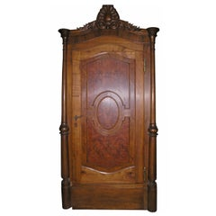 Antique Door with Original Frame