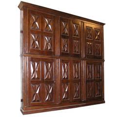 Antique Closet Made of Poplar